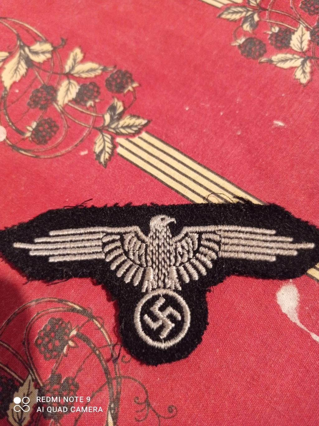 Identification insignes tissus Allemand WW2 Img_2083