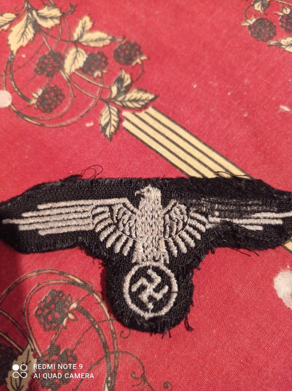 Identification insignes tissus Allemand WW2 Img_2084