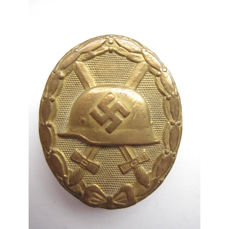 Verwundetenabzeichen gold 110