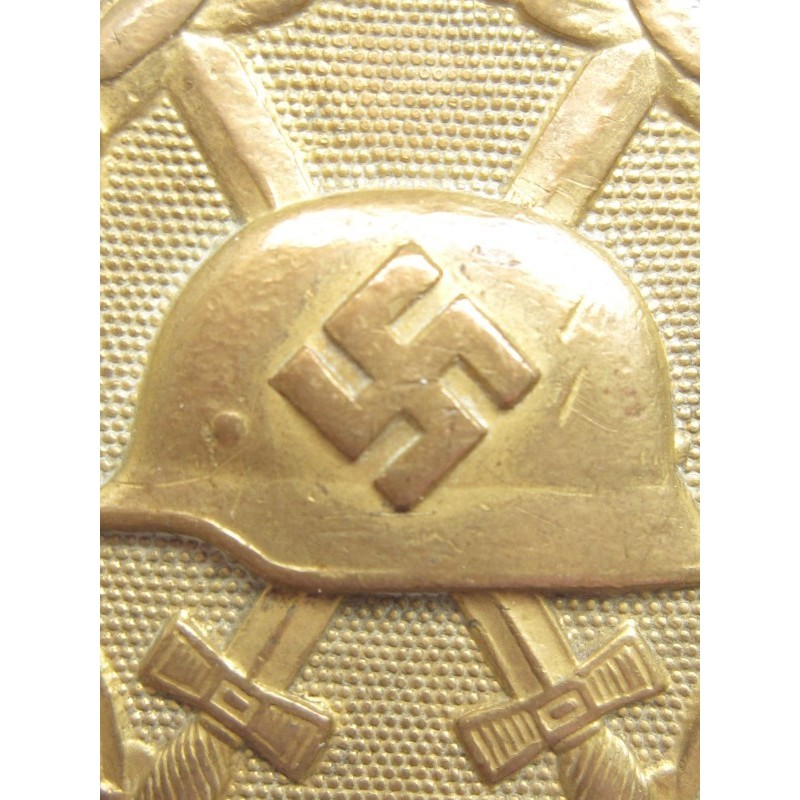Verwundetenabzeichen gold 211