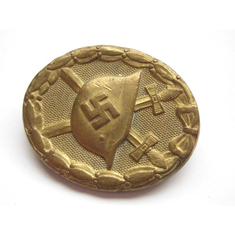 Verwundetenabzeichen gold 810