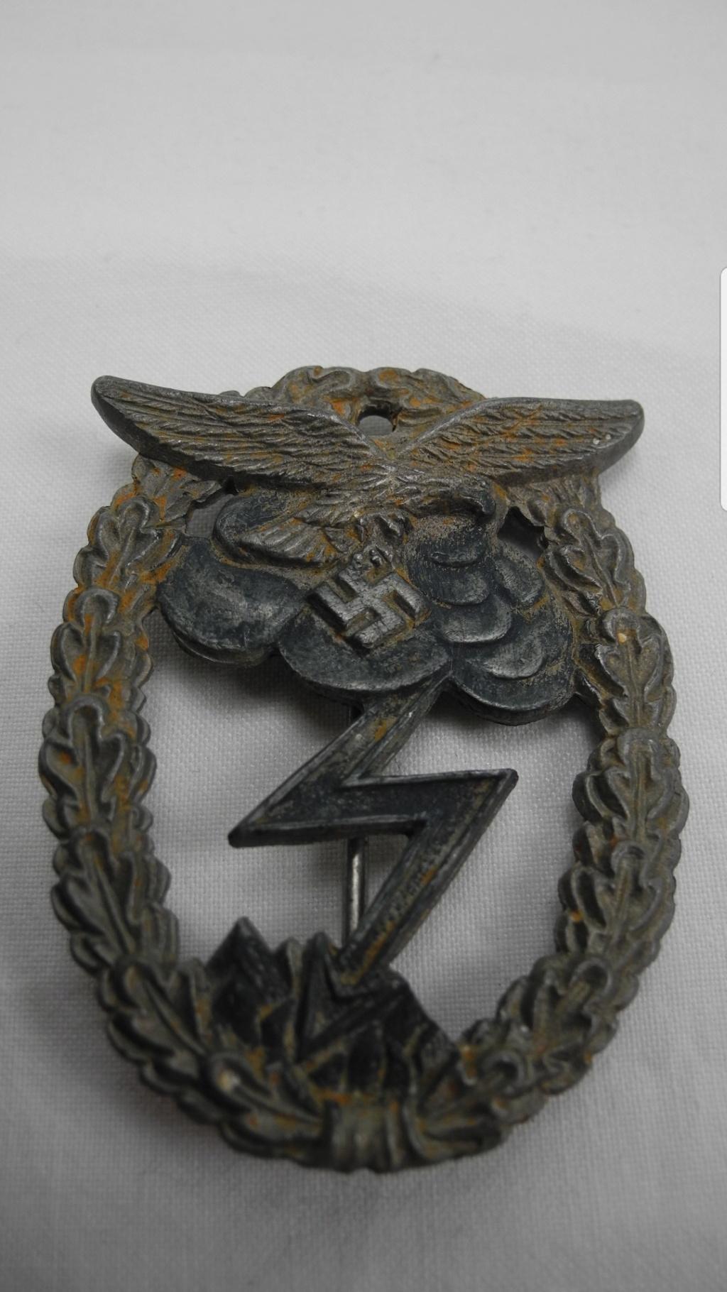 Erdkampfabzeichen der Luftwaffe Arno Wallpach Screen25