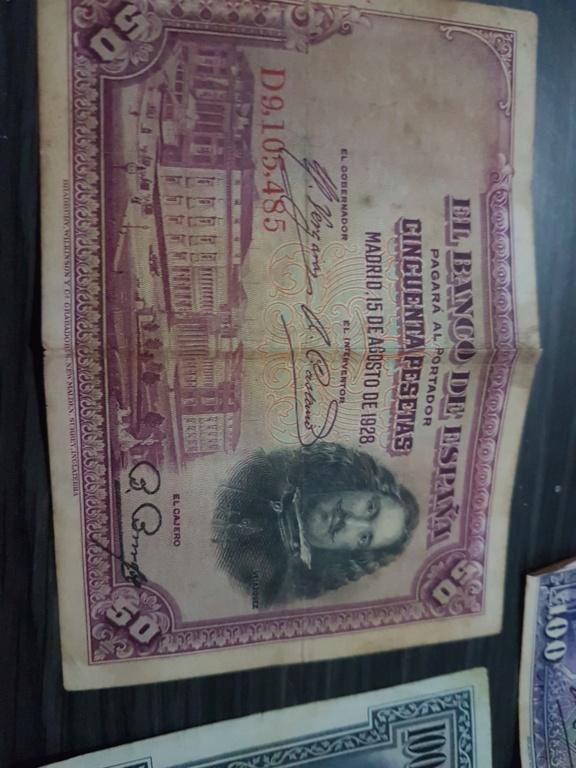 Mi colección de billetes y monedas: tasar 15952611