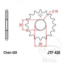 Piñón ataque rkf Jtf42610