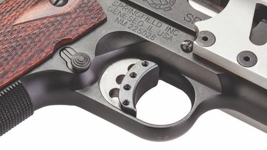 WTB 1911 trigger shoe Trigge10