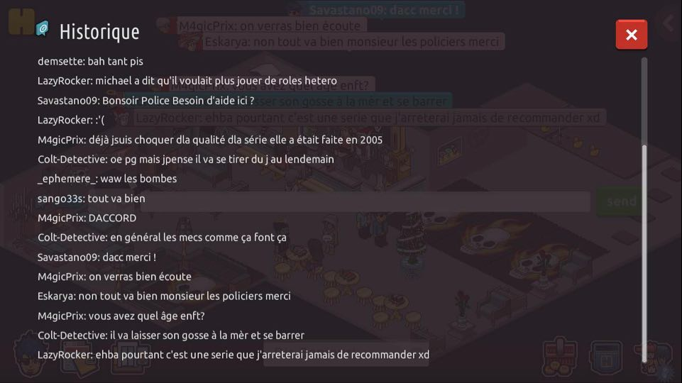 (P.N) Rapports de Patrouilles de Savastano09 Appart11