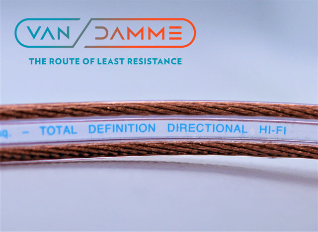 Van Damme Hifi Series Speaker Cable 2.5mm with Deltron Banana plugs 2_logo10