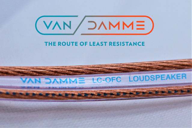 Van Damme Hifi Series Speaker Cable 2.5mm with Deltron Banana plugs 3_logo10