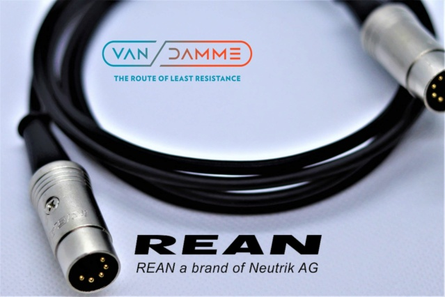 Van Damme cable for Naim, 5 pin DIN, customizable lengths 5pin_d15