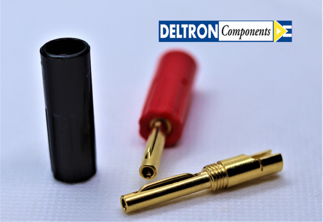 Van Damme Hifi Series Speaker Cable 2.5mm with Deltron Banana plugs 6_logo10