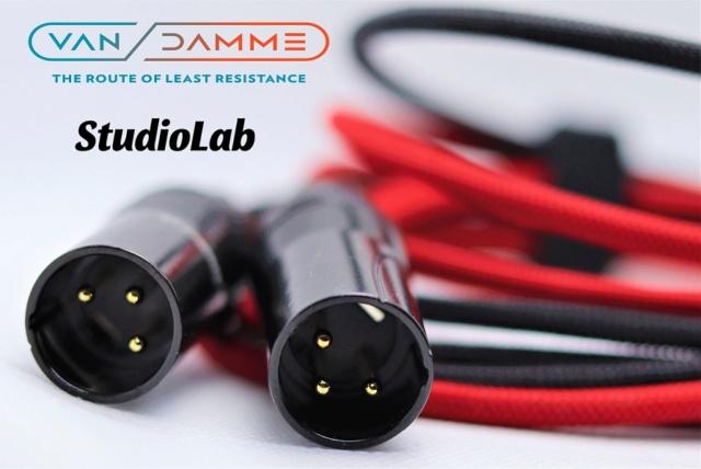 Van Damme XLR Balanced Cable, customizable lengths Img_3613