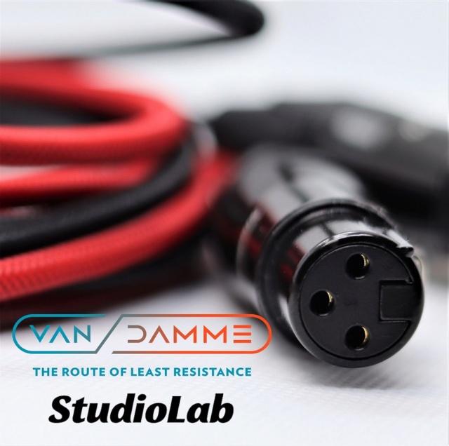 Van Damme XLR Balanced Cable, customizable lengths Img_3615