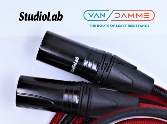 Van Damme M or F XLR to RCA Cable, customizable lengths Img_3616