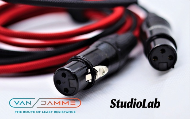 Van Damme M or F XLR to RCA Cable, customizable lengths Img_3618