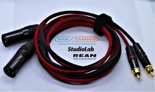 Van Damme M or F XLR to RCA Cable, customizable lengths Img_3620