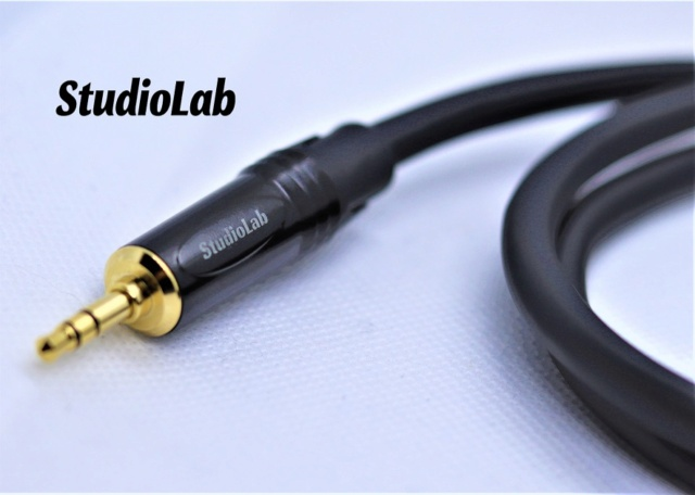 Tachii 3.5mm to 5pin DIN cable for Naim equipment, REAN / Studiolab connectors Img_3820