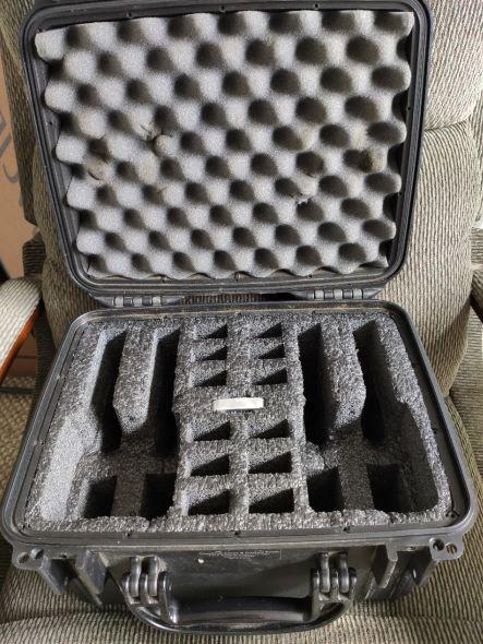 SOLD Case Club 4 gun waterproof case Case_210