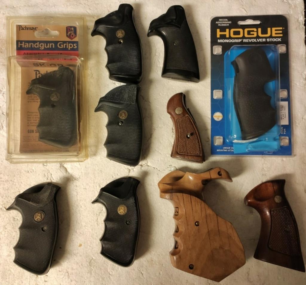 Pachmayr revolver grips Revolv10