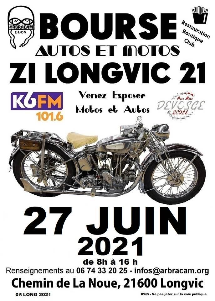 Bourse auto moto à Longvic 2021 Longvi10