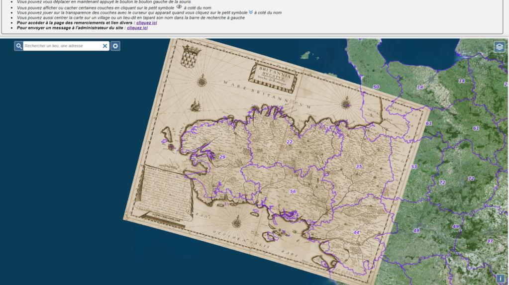 Carte de Bretagne Bzh10