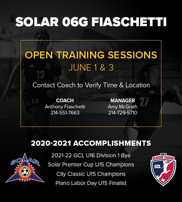 Solar 06G Fiaschetti - GCL D1 - Open Practices/Sessions 2021_s17