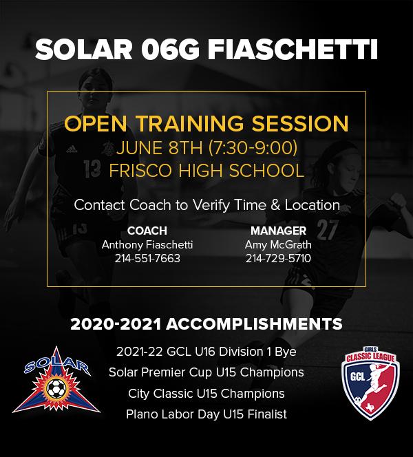 Solar 06G Fiaschetti - GCL D1 - Open Practices/Sessions 2021_s19