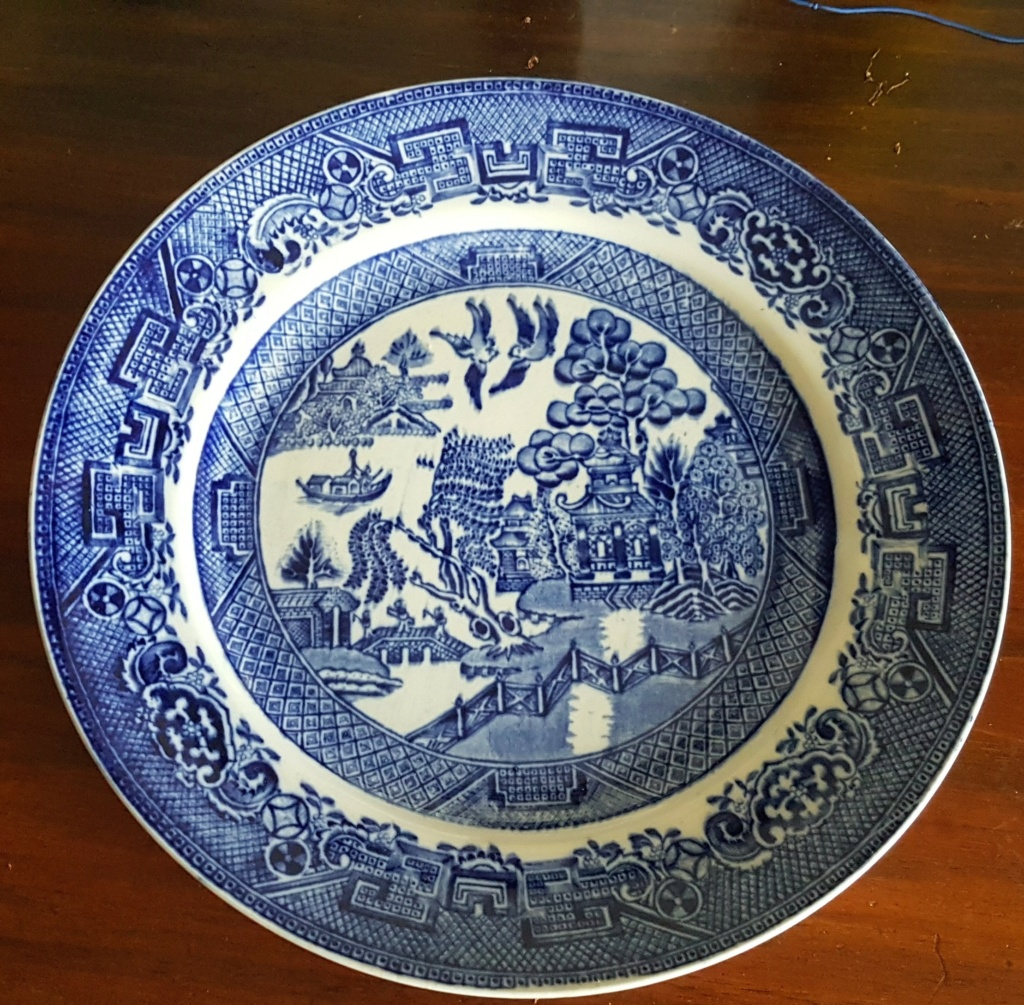 Unknown Willow Plate 20210623