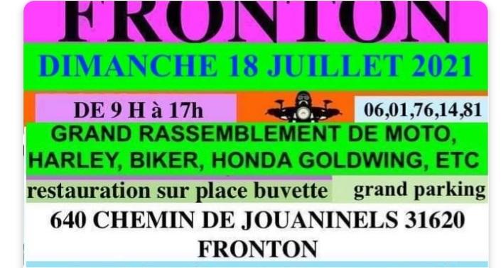 Rencontte harleys, goldwing à FRONTON 31 Screen10