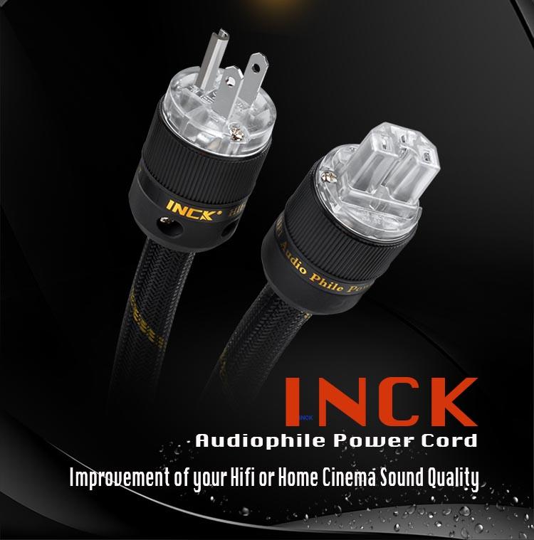 INCK Audiophile Power Cord (2 Meter) Inck10