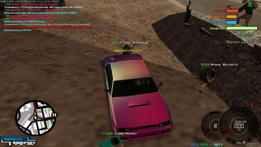 Toni Salvaje Troll Car Golpeo10