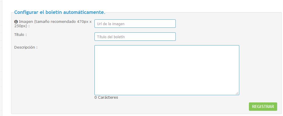 """Newsletter """"Contenido popular"""" Boleti10"""