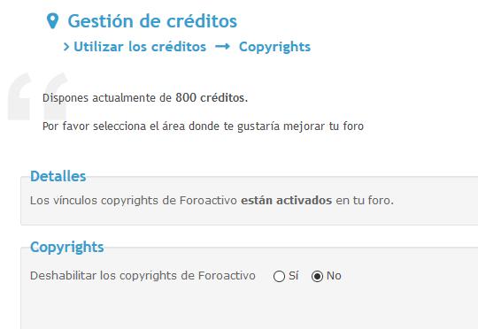 Quitar Y/O añadir vinculos en el footer Foroactivo y editar el copyright y opciones de la Toolbar Copys10
