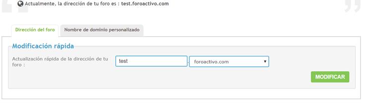 No funciona más mi dominio externo que tuve durante años (paquete gratuito) Test10