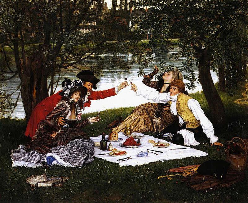 """Manet Edouard, """"Le déjeuner sur l'herbe"""" 1024px12"""