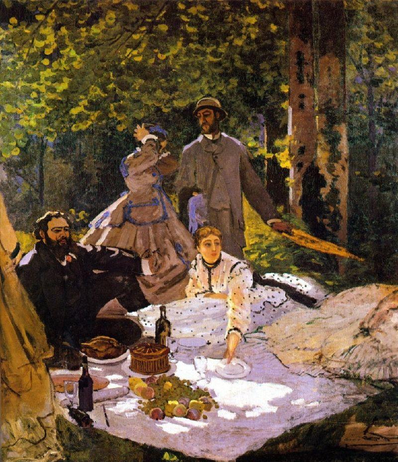 """Manet Edouard, """"Le déjeuner sur l'herbe"""" 800px-10"""