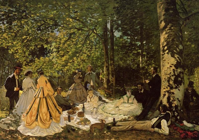 "Manet Edouard, ""Le déjeuner sur l'herbe"" Dejeun10"