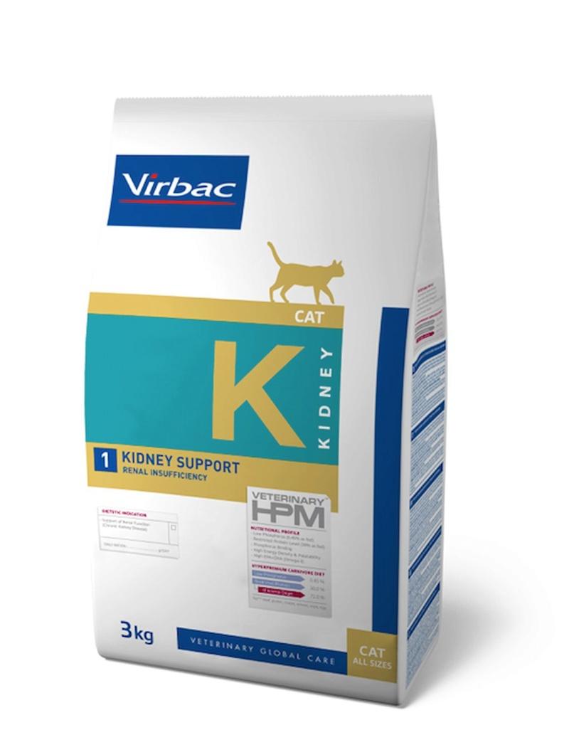 Base de données sur l'alimentation diététique vétérinaire pour chats insuffisants rénaux Hpm10