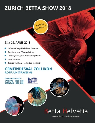 Zürich Betta Show 28-29 avril 2018 Flyer-10