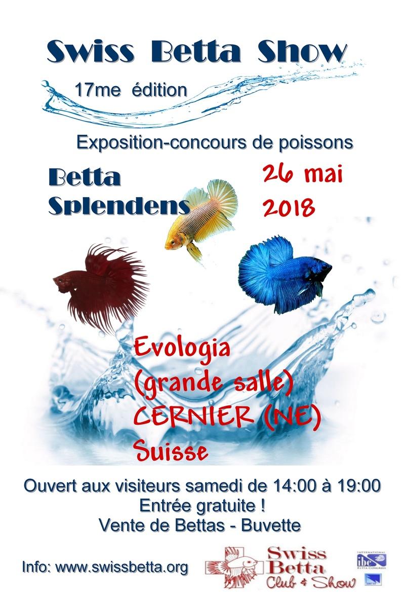 17me Swiss Betta Show 25-27 mai 2018 Cernier [MàJ 30.03.18] Petite11