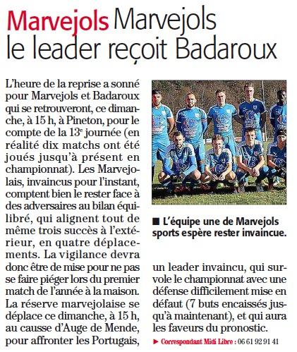 MARVEJOLS / Badaroux Bada10