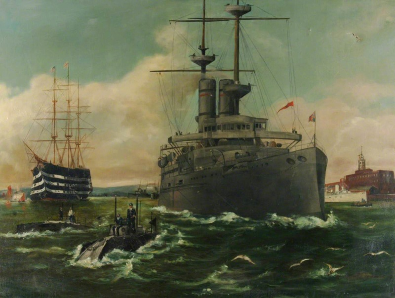 William Ehrhardt fournisseur officiel de la Royal Navy  Hmp_rn10
