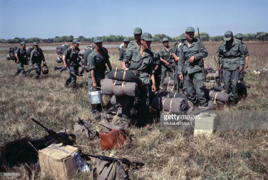 Les F.A.R. au Zaïre Shaba II - 1978 95662610