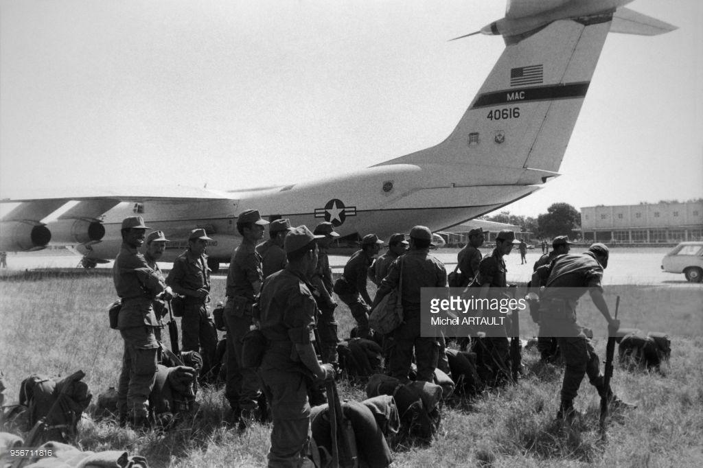 Les F.A.R. au Zaïre Shaba II - 1978 95671111