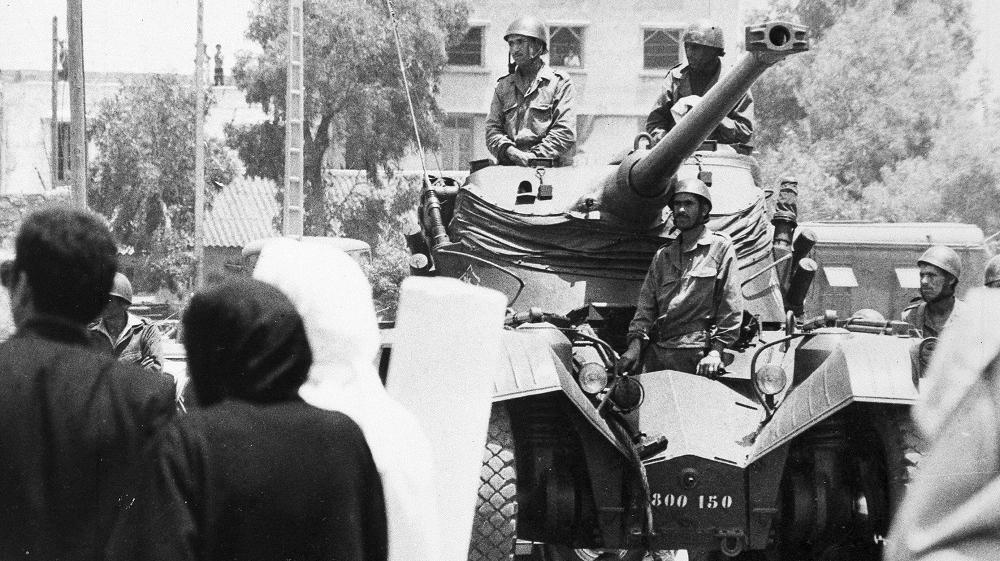Tentative de coup d'État à Rabat et Skhirate le 10 juillet 1971  C7e20710