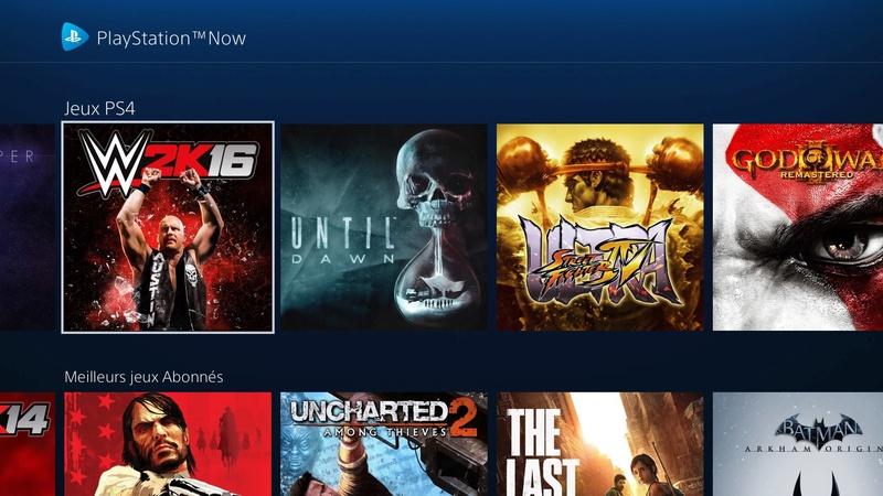 PlayStation : Le PS Now disponible dès maintenant en France 110
