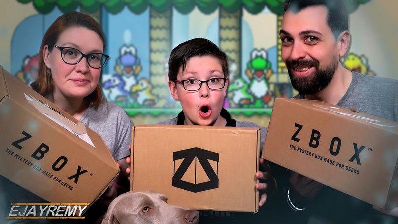 3 COLIS BOX GEEK SURPRISES EN RETARD ! Zbox unboxing   Ejayremy 3_zbox10