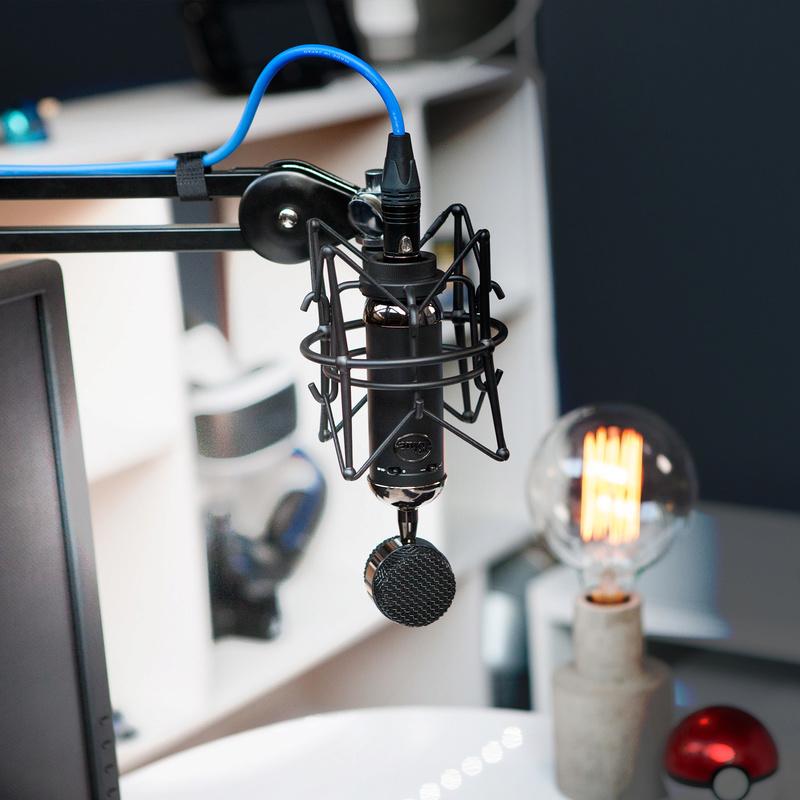 Blue présente le Blackout Spark SL, un micro pour le streaming, podcasting et l'enregistrement pro Img310