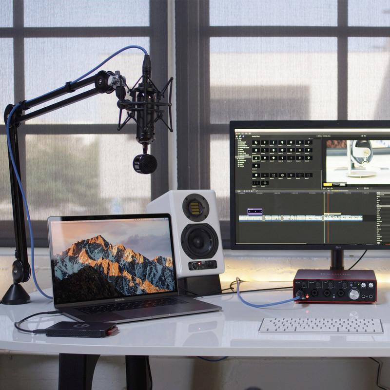 Blue présente le Blackout Spark SL, un micro pour le streaming, podcasting et l'enregistrement pro Img410