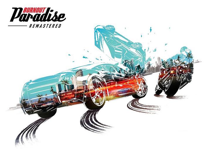 Burnout Paradise Remastered débarque sur Playstation 4 et Xbox One Keyart10