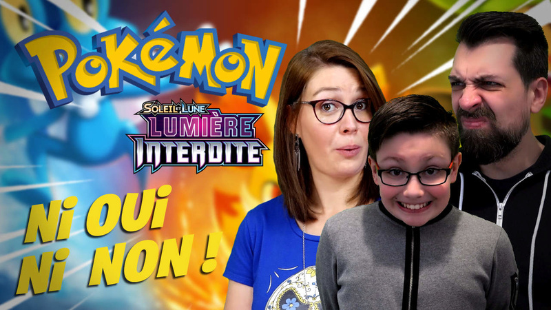 POKEMON CHALLENGE - Ni oui Ni non Battle en famille | Ejayremy / Family Geek Pokemo15